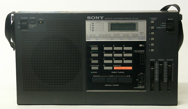 My new (to me) sony icf-2001 shortwave radio   the swling post.