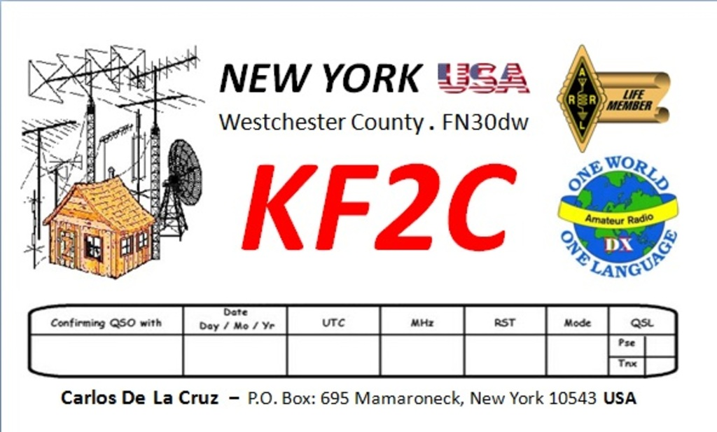 KF2C Callsign on QRZCQ - The database for radio hams