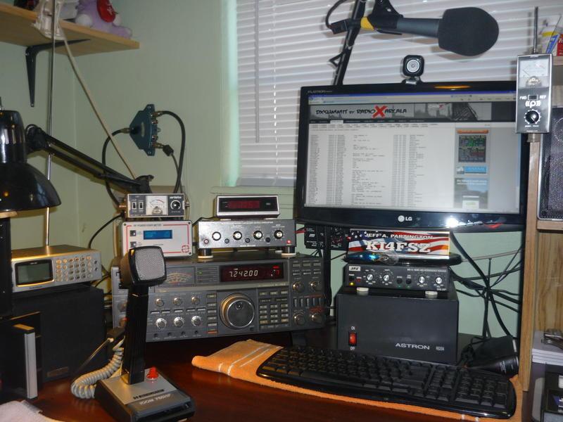 Amateur radio satellite podcast