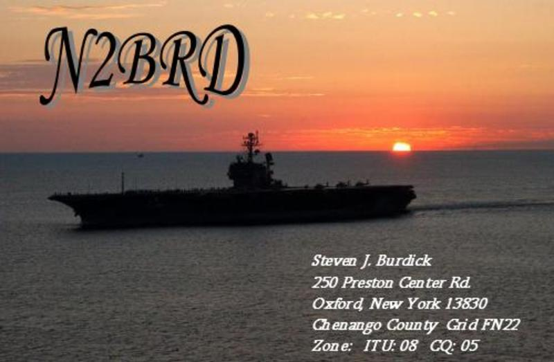 N2BRD Callsign on QRZCQ - The database for radio hams